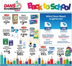Dan's Supermarket deals in the Dan's Supermarket catalog ( 10 days left)