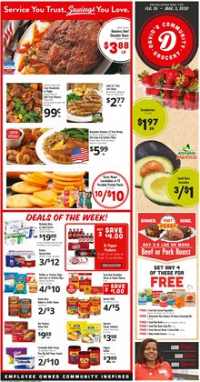 Grocery & Drug offers in the David's Supermarkets catalogue in Iowa City IA ( Published today )