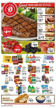 David's Supermarkets deals in the David's Supermarkets catalog ( Expires tomorrow)