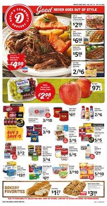 David's Supermarkets deals in the David's Supermarkets catalog ( 3 days left)