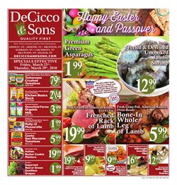 DeCicco & Sons deals in the Scarsdale NY weekly ad
