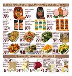 Cheese deals in the DeCicco & Sons weekly ad in New York