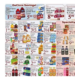 Kraft deals in the DeCicco & Sons weekly ad in New York