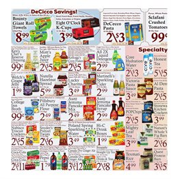 Nabisco deals in the DeCicco & Sons weekly ad in New York