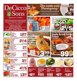 Pans deals in the DeCicco & Sons weekly ad in New York
