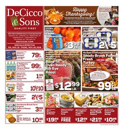 Wine deals in the DeCicco & Sons weekly ad in Ridgewood NY