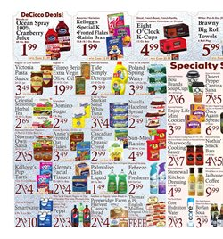 Special K deals in the DeCicco & Sons weekly ad in New York