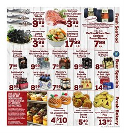 Budweiser deals in the DeCicco & Sons weekly ad in New York