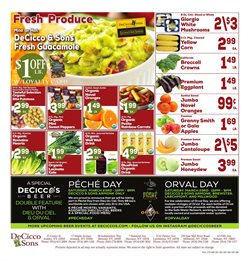 Soil deals in the DeCicco & Sons weekly ad in New York