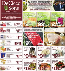 DeCicco & Sons catalogue ( 1 day ago )
