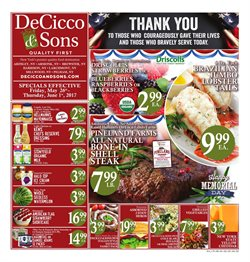 Grocery & Drug deals in the DeCicco's weekly ad in New York