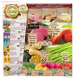 Fruit deals in the DeCicco's weekly ad in New York