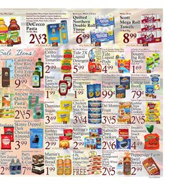 Detergent deals in the DeCicco's weekly ad in New York