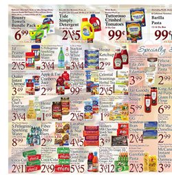 Tide deals in the DeCicco's weekly ad in New York