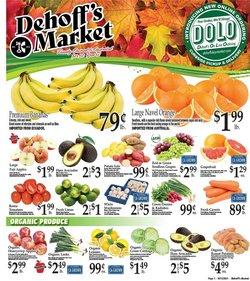 Dehoff's Key Markets deals in the Dehoff's Key Markets catalog ( 2 days left)