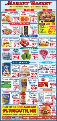DeMoulas Market Basket catalogue ( 2 days left )