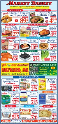 DeMoulas Market Basket catalogue ( Expired )