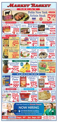Grocery & Drug deals in the DeMoulas Market Basket catalog ( 2 days left)