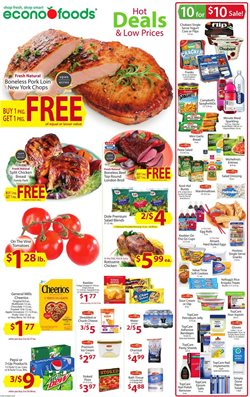 Econofoods deals in the Minneapolis MN weekly ad