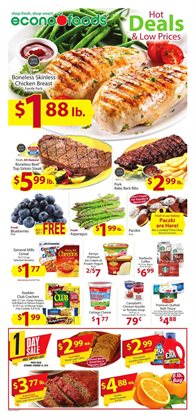 Grocery & Drug deals in the Econofoods weekly ad in Minneapolis MN