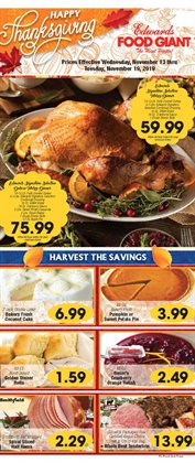 Edwards Food Giant deals in the Little Rock AR weekly ad