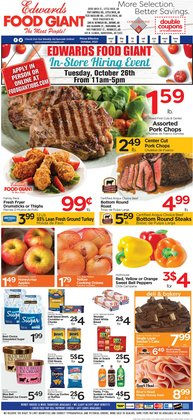 Edwards Food Giant deals in the Edwards Food Giant catalog ( 2 days left)