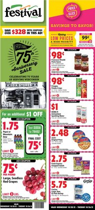 Festival Foods deals in the Festival Foods catalog ( 4 days left)
