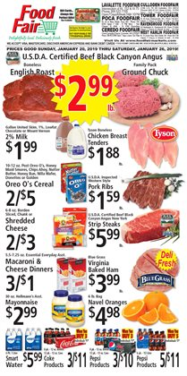 Picture & sound deals in the FoodFair weekly ad in Charleston WV