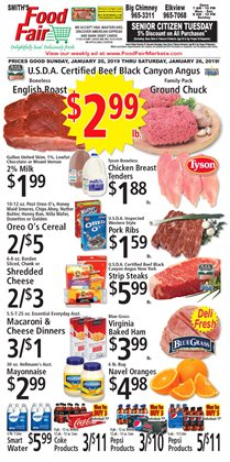 Chicken deals in the FoodFair weekly ad in Charleston WV