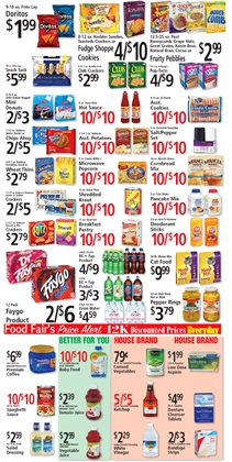 Accessories deals in the FoodFair weekly ad in Charleston WV