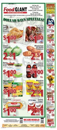 food giant gulfport ms weekly ads coupons september. Black Bedroom Furniture Sets. Home Design Ideas