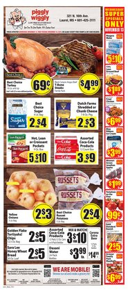 Food Giant deals in the Laurel MS weekly ad