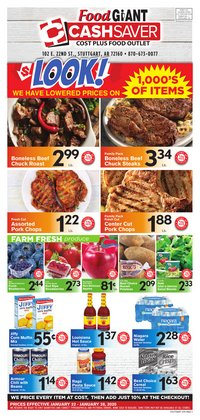 Food Giant deals in the Nashville TN weekly ad