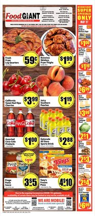 Grocery & Drug offers in the Food Giant catalogue in Nashville TN ( 1 day ago )