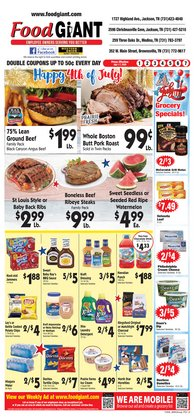 Grocery & Drug offers in the Food Giant catalogue in Jackson TN ( Expires today )