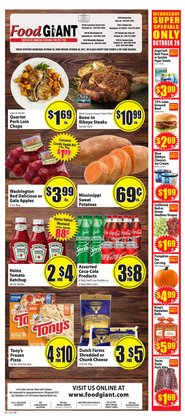 Grocery & Drug deals in the Food Giant catalog ( Expires tomorrow)