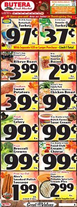 Grocery & Drug deals in the Butera weekly ad in Joliet IL