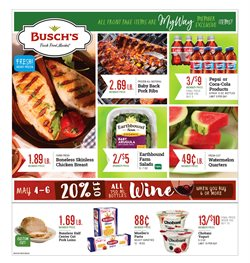 Pasta deals in the Busch's weekly ad in Livonia MI
