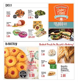 Cheese deals in the Busch's weekly ad in Livonia MI