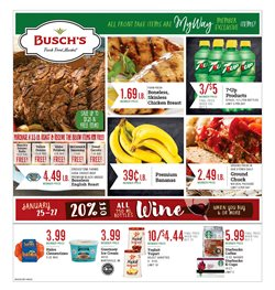 Grocery & Drug deals in the Busch's weekly ad in Dearborn Heights MI