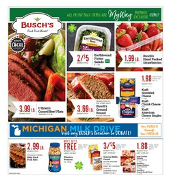 Busch's deals in the Bloomfield Hills MI weekly ad
