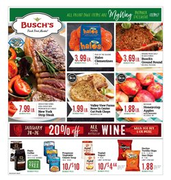 Busch's deals in the Ann Arbor MI weekly ad