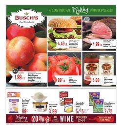 Busch's deals in the Busch's catalog ( 5 days left)