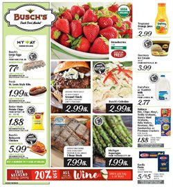 Busch's deals in the Livonia MI weekly ad
