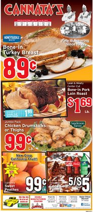 Cannata's Family Market deals in the Houma LA weekly ad