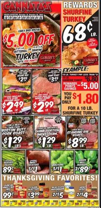 Cannata's Family Market catalogue ( 2 days left )