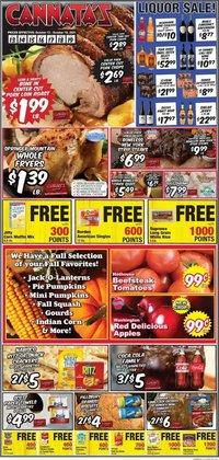 Cannata's Family Market deals in the Cannata's Family Market catalog ( 1 day ago)