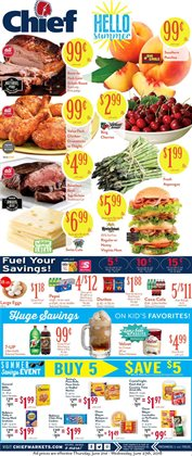 Chief Supermarket deals in the Lima OH weekly ad
