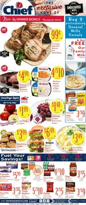 Chief Supermarket deals in the Coldwater OH weekly ad