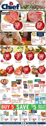 Chief Supermarket deals in the Bryan OH weekly ad